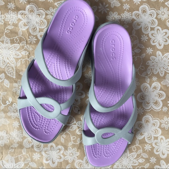 a840c7d93fa952 CROCS Shoes - CROCS Women s Meleen Twist Sandal Size 10